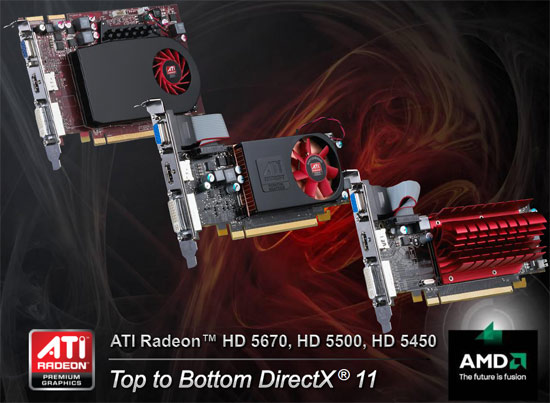 ATI Radeon HD 5670 Video Card Front