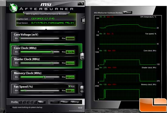 ECS GeForce GT 240 Overclock