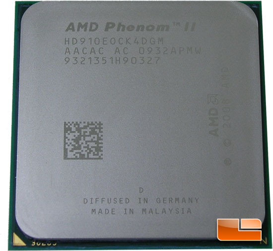 AMD Phenom II X4 910e Review