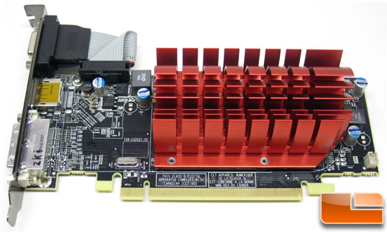 ATI Radeon HD 5450 DX11 Video<br />  Card back
