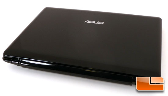 ASUS 1201N Closed Front