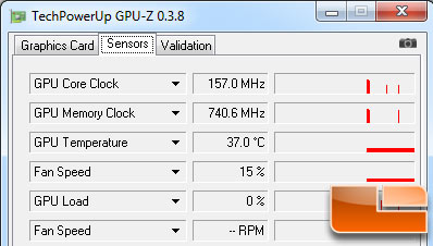 ATI Radeon HD 5570 1GB Idle Temperature