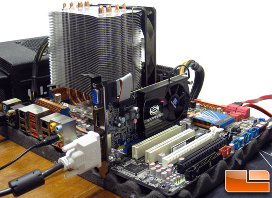 The ATI Radeon HD 5570 Test System