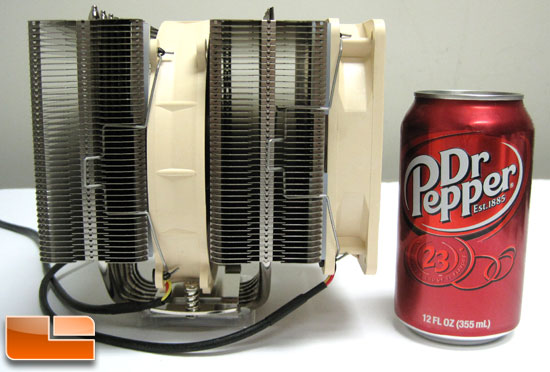 Noctua NH-D14 next to a soda can