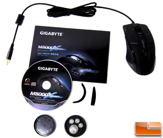 Gigabyte M8000X Retail Bundle