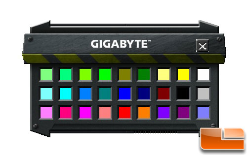 GHOST Software Suite- M8000X LED Color Options