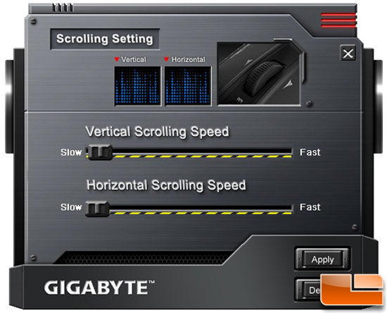 GHOST Software Suite- M8000X Scrolling
