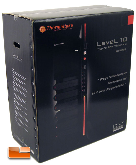 Thermaltake Level 10 packing