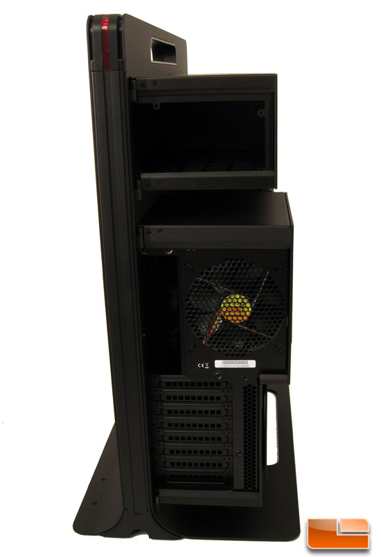 rear of the Thermaltake Level 10