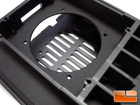 Thermaltake Level 10 hard drive tray fan mount