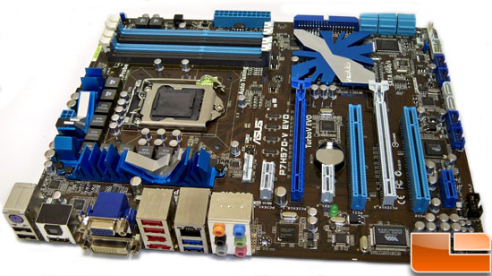 ASUS P7H57D-V EVO Motherboard Review