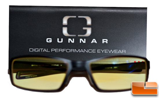 Gunnar Hi-FIVE glasses with box