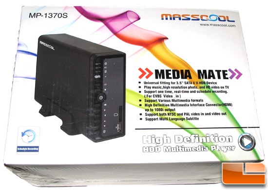 Masscool MP-1370S Box