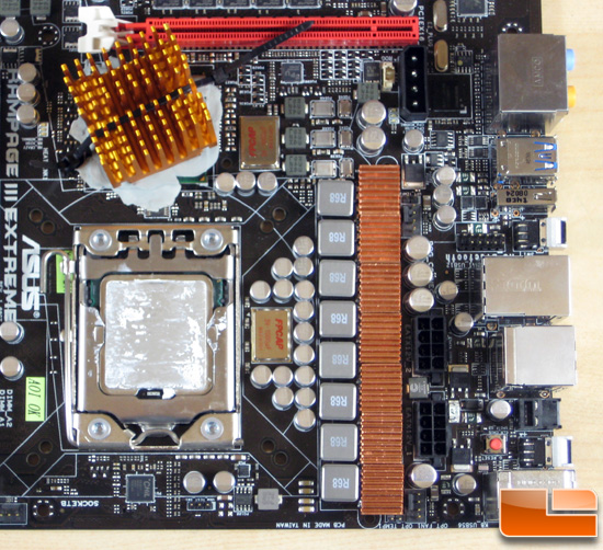 Asus Rampage III Extreme Socket and PWM