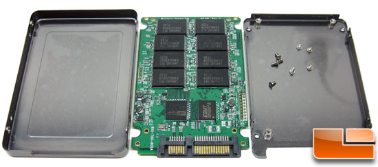 WD SiliconEdge Blue 256GB SSD Inside