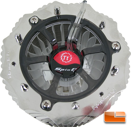 ThermalTake SpinQ VT CPU cooler base finish