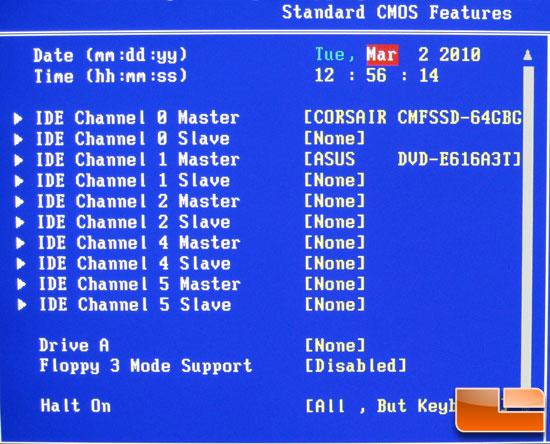 standard cmos features драйвера