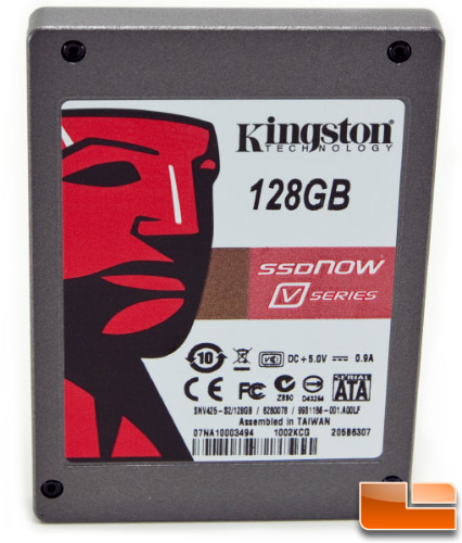 Kingston 128GB V Series DRIVE FRONT