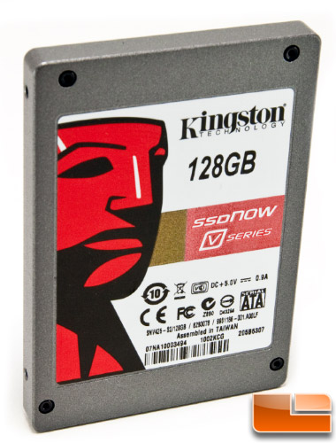 Kingston 128GB V Series front angle