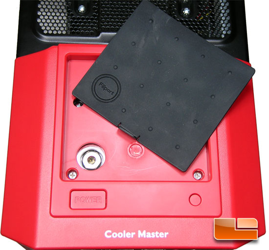 Cooler Master HAF 932 AMD Edition Case Fill-port