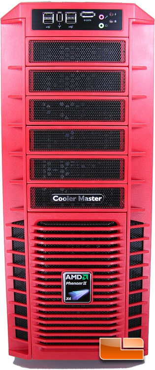 Cooler Master HAF932 AMD Edition Case Front