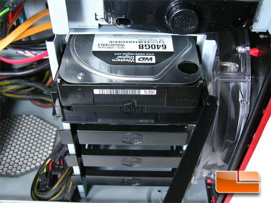Cooler Master HAF 932 AMD Edition Hard Drive