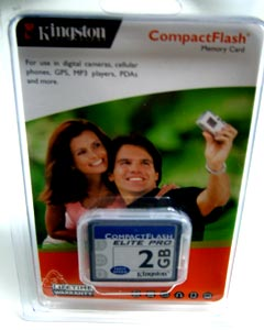 Kingston Elite Pro CompactFlash