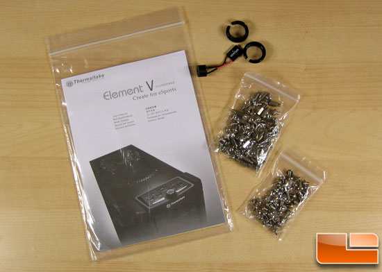 Thermaltake Element V ATX Case Screws