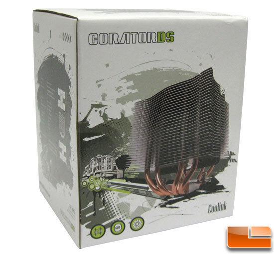 Coolink Corator DS CPU Cooler Box
