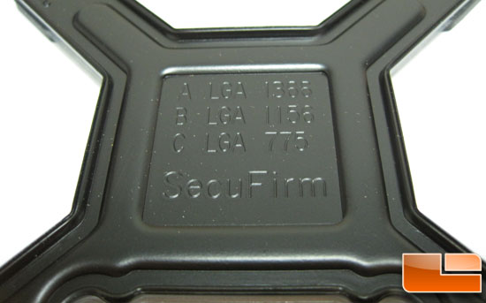 SecuFrim Mounting plate hole key