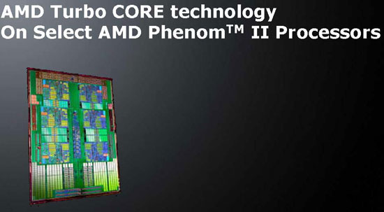 AMD Turbo CORE Technology on Phenom II X6 CPUs