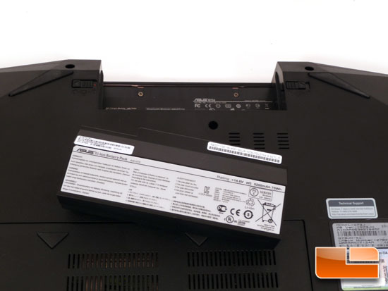 ASUS G73Jh Battery