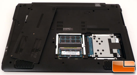 ASUS UL50Vf Bottom
