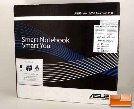 ASUS UL50Vf Box