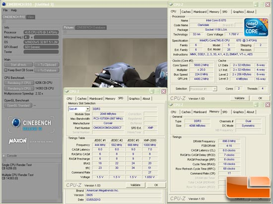 Asus Maximus III Extreme overclocking 5.6GHz Cinebench 10