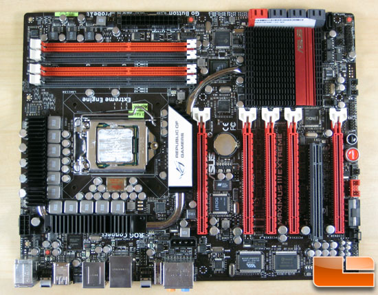 ASUS Maximus III Extreme LGA 1156 Motherboard Review