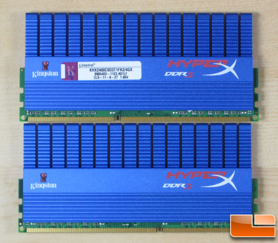 Kingston HyperX DDR3 KHX2400C9D3T1FK2/4GX