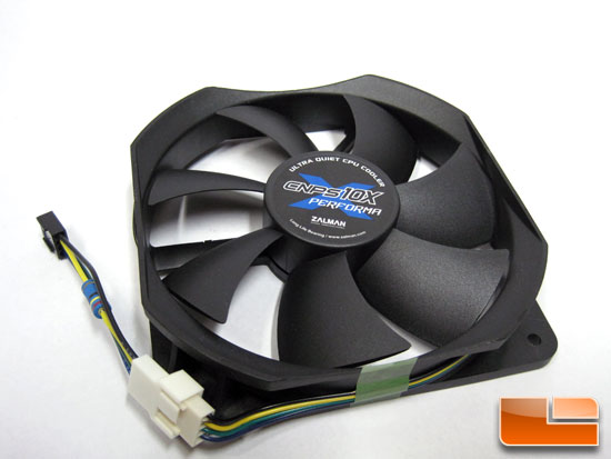 Zalman CPNS10X Performa CPU Cooler fan