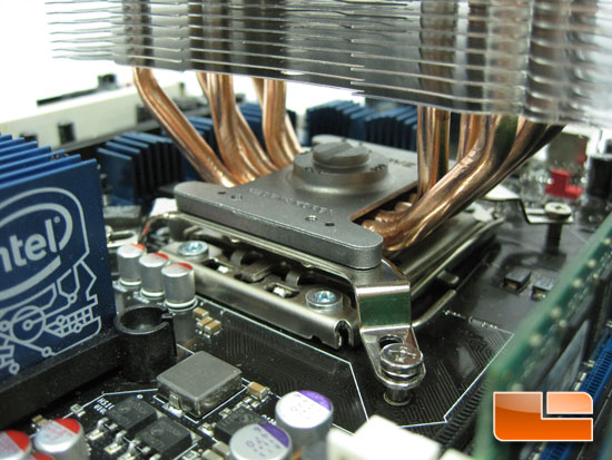Zalman CPNS10X Performa CPU Cooler installed