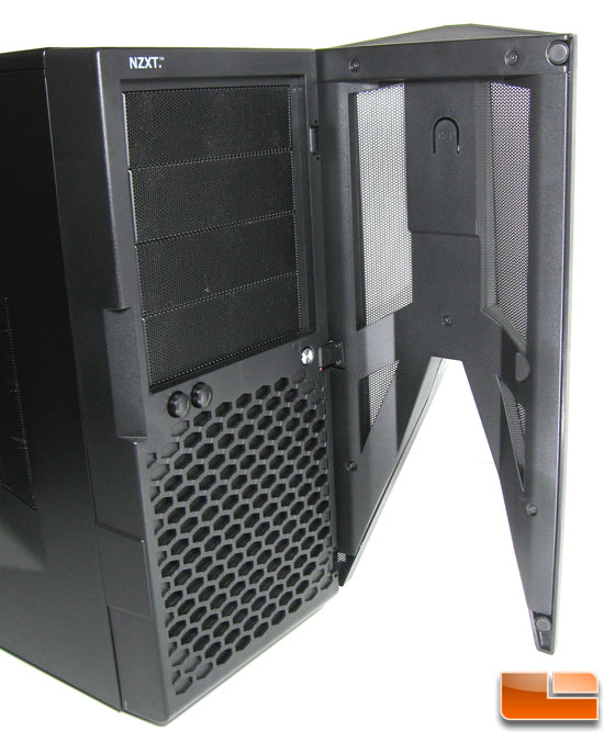 NZXT Hades Front Panel Opened