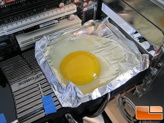 Cooking an Egg on the GeForce GTX 480