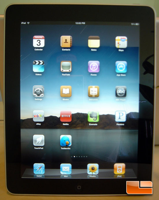 Apple iPad Front
