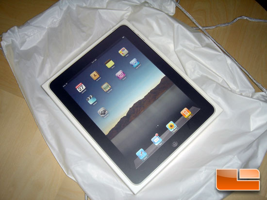 Apple iPad 16GB Wi-Fi Edition Tablet PC First Impressions