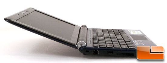 ASUS Eee PC 1000HE Wide Open
