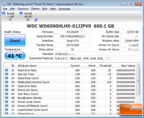 Western Digital VelociRaptor 600GB HDD Test Drive