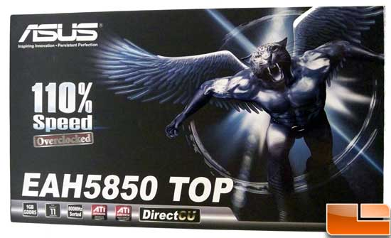ASUS EAH5850 TOP Box