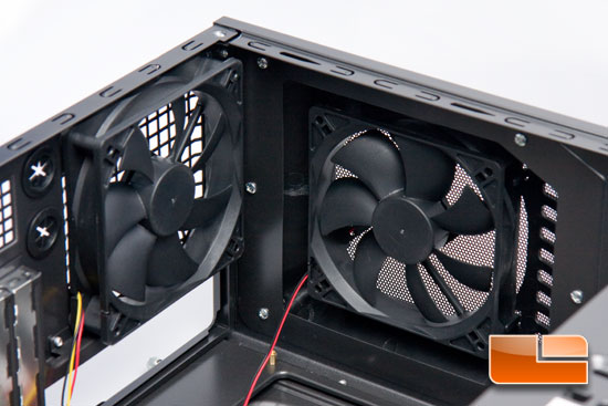 GMC H80 Top 120mm Fans