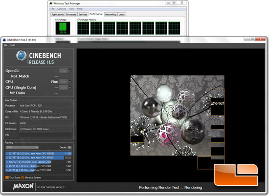 Cinebench R11.5 Benchmark
