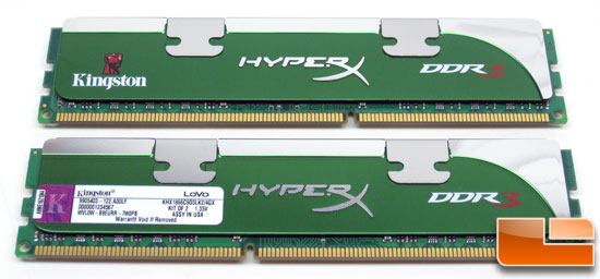 Kingston 1866MHz Low-Voltage DDR3 Memory Kit
