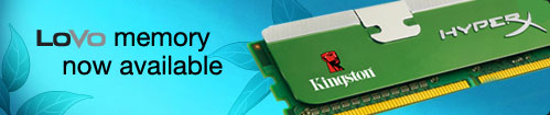 Kingston Low Voltage DDR3 Memory Kit
